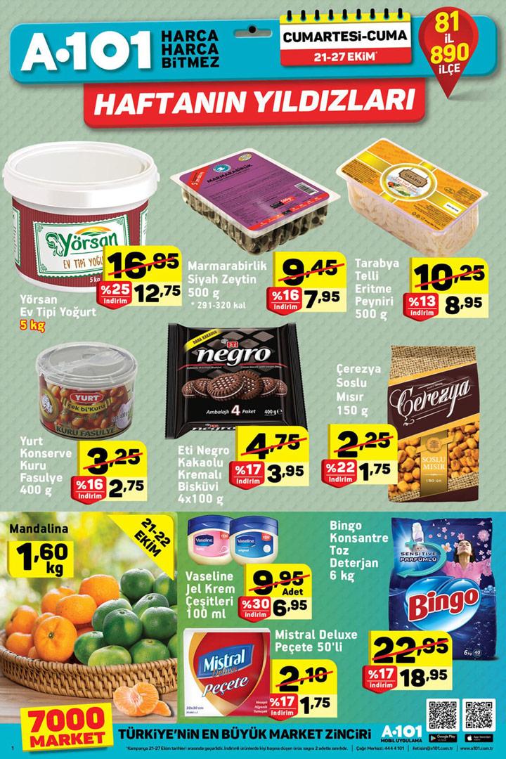 A101 21 Ekim 2017 Aktüel Ürünler Kataloğu