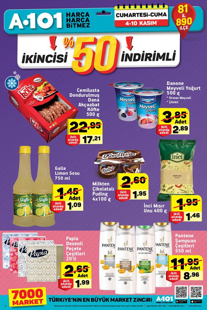 A101 4 Kasım Hafta Sonu Aktüel Ürünler Kataloğu