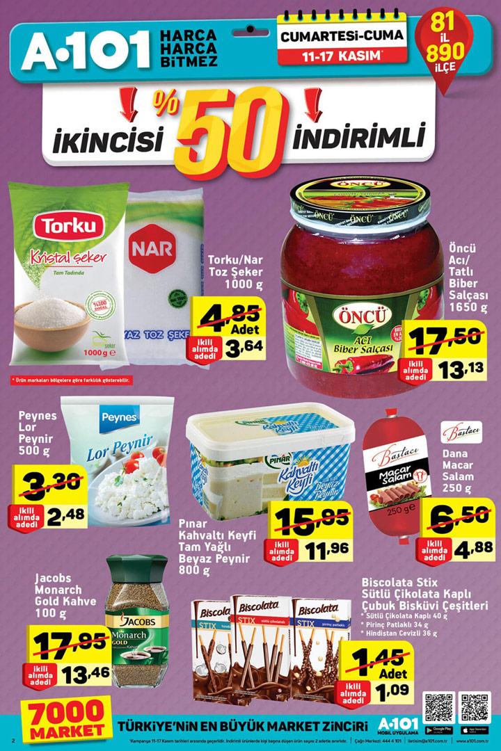 A101 11 Kasım & 17 Kasım Aktüel Ürünler Kataloğu