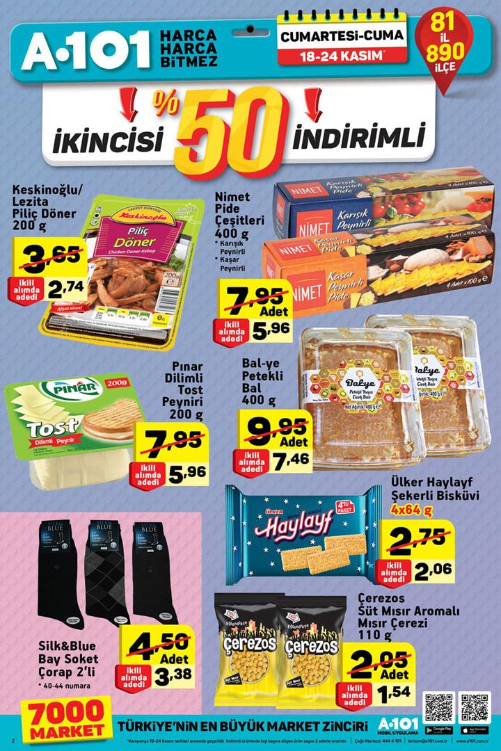 A101 18 Kasım & 24 Kasım Aktüel Ürün Katalogları