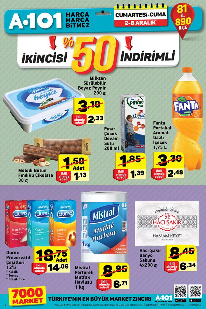 A101 2 Aralık Aktüel Ürünler Hafta Sonu Kataloğu