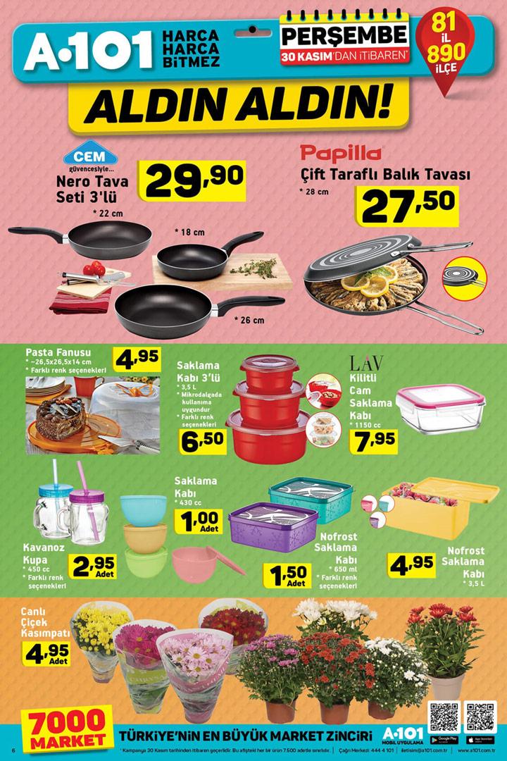 A101 30 Kasım Perşembe Mutfak Aktüel Ürünü