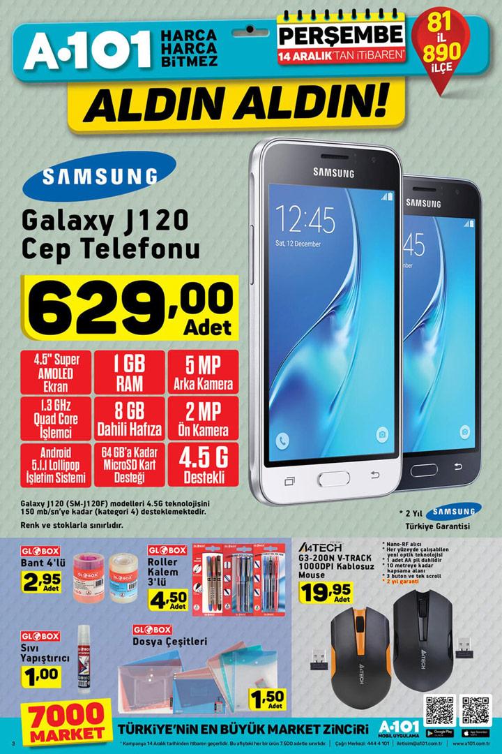 A101 14 Aralık Teknoloji & Elektronik Aktüel Kataloğu