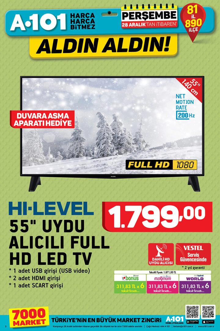 A101 28 Aralık Aktüel Ürün Aldın Aldın Fırsatı