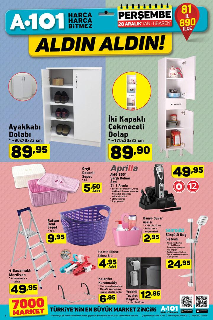 f41001bfe1b9f A101 28 Aralık Aktüel Yeni İndirimli Ürünler