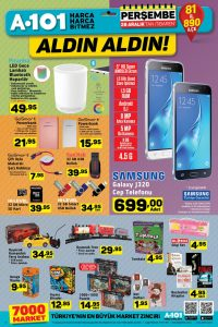 A101 28 Aralık 2017 Aktüel Ürünler Kataloğu