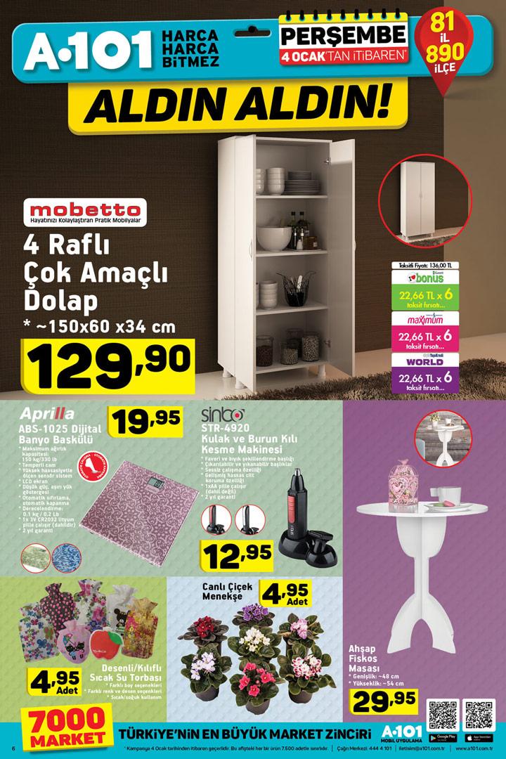 A101 4 Ocak Dekoratif Aktüel Ürünler İncelemesi