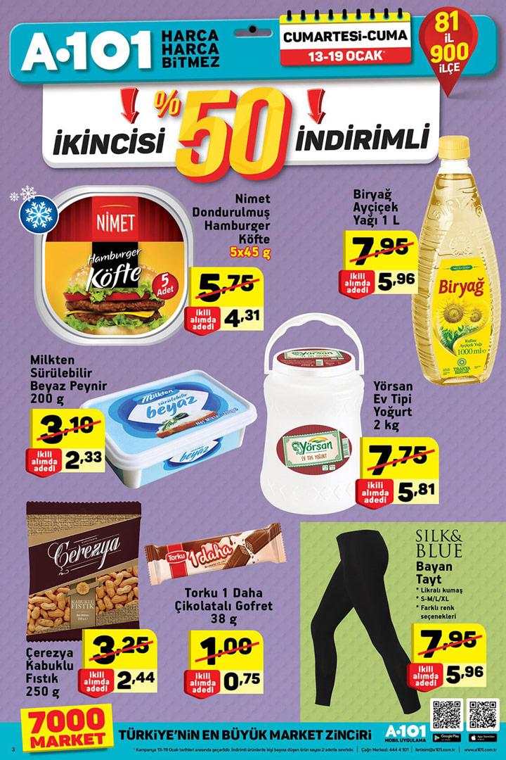 A101 13 Ocak & 19 Ocak Aktüel Ürünler Kataloğu