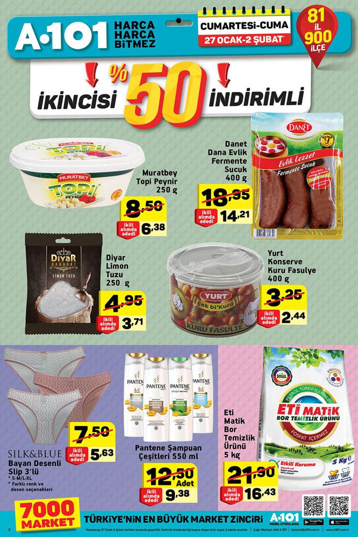 A101 27 Ocak & 2 Şubat Aktüel Ürünler Kataloğu