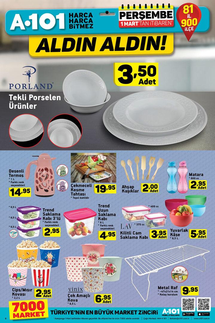 A101 1 Mart Mutfak Aktüel Ürün Sayfası