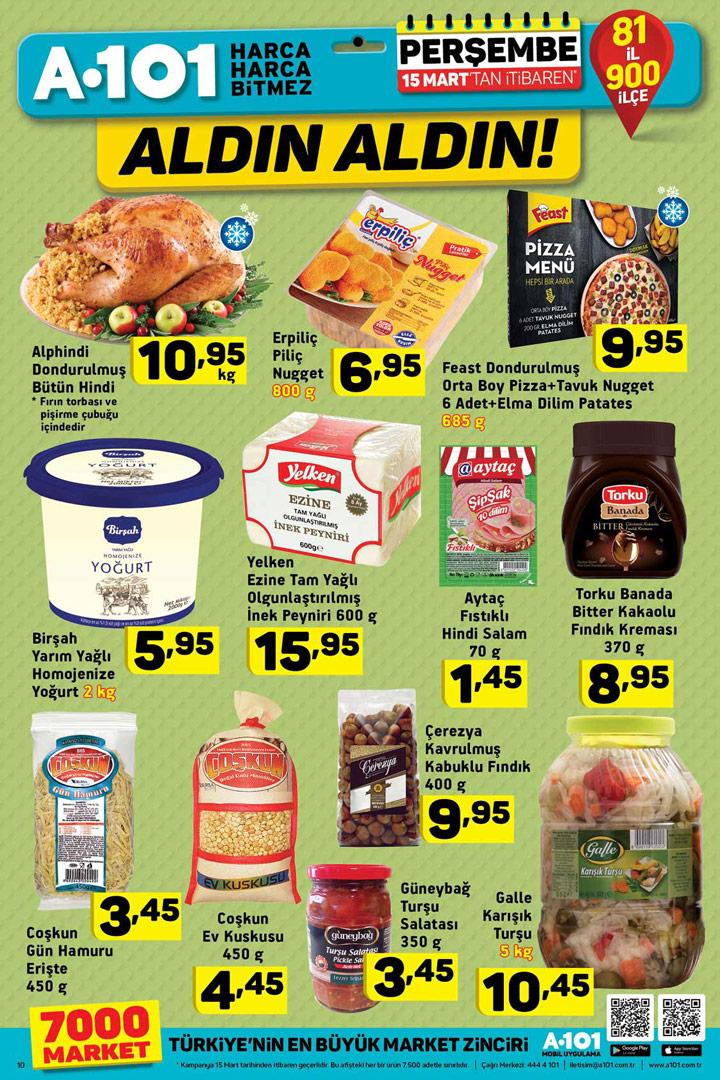 A101 15 Mart Spot Ürünleri Gıda Fırsatları İncelemesi