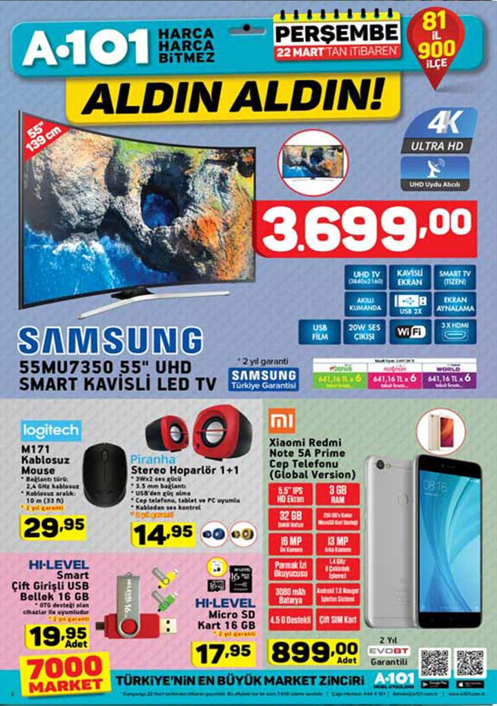 A101 22 Mart Perşembe Bu Hafta Aktüel Ürünleri