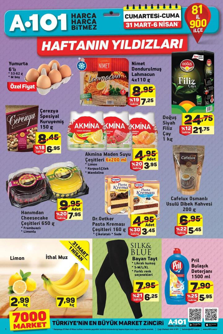 A101 31 Mart 2018 Aktüel Ürünler Kataloğu