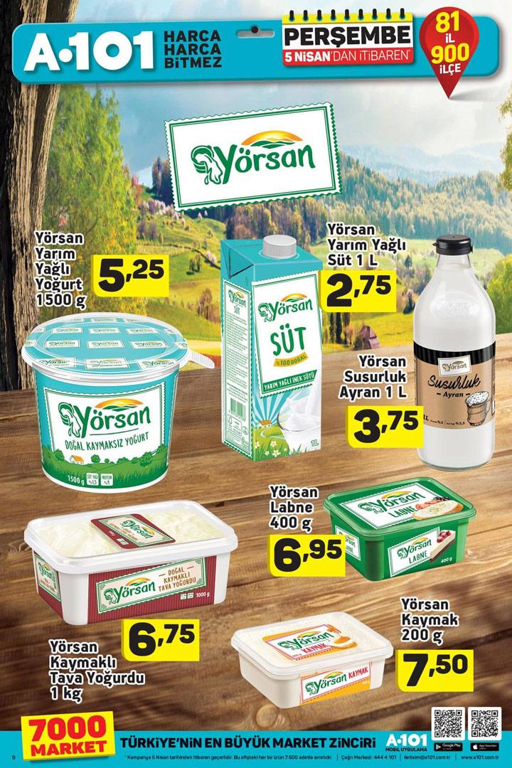A101 5 Nisan Yörsan Aktüel Ürünleri Sayfası