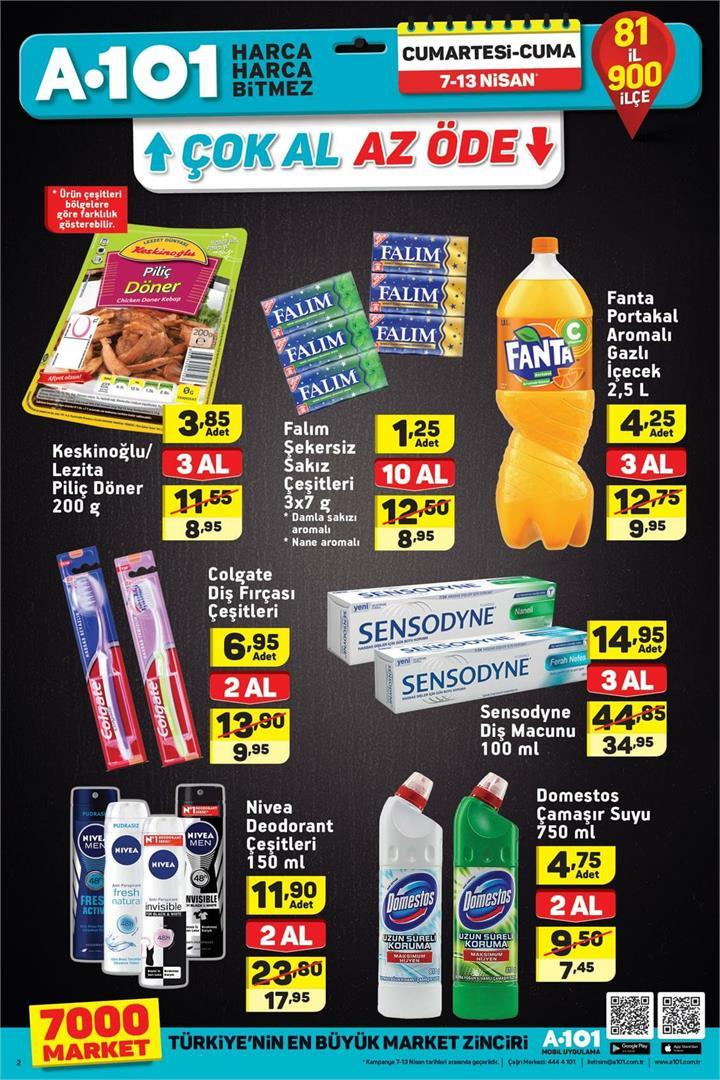 A101 7 Nisan & 13 Nisan Aktüel Ürünler Kataloğu