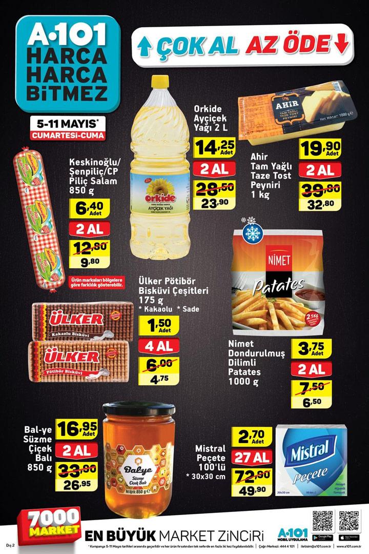 A101 5 Mayıs – 11 Mayıs Aktüel Ürün Katalogları
