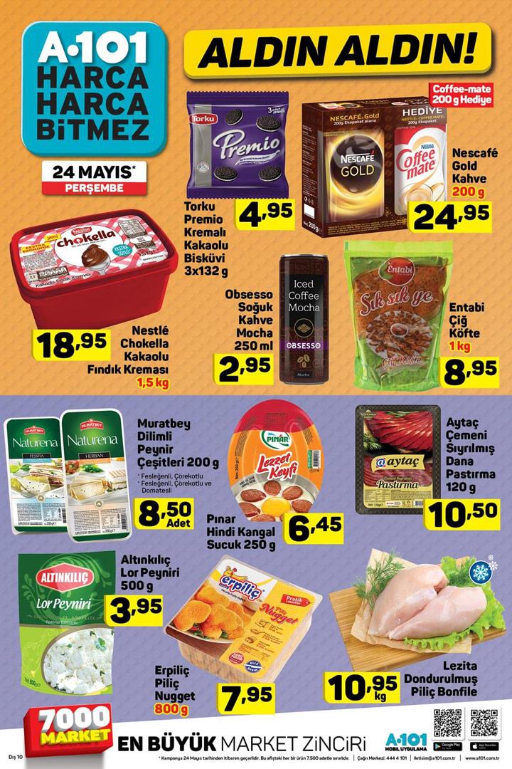 A101 24 Mayıs Aktüel Gıda Kataloğu Fırsatı
