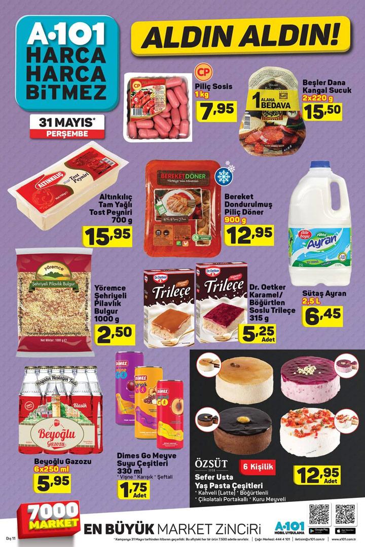 A101 31 Mayıs Aktüel Gıda Ürün Sayfası İncelemesi