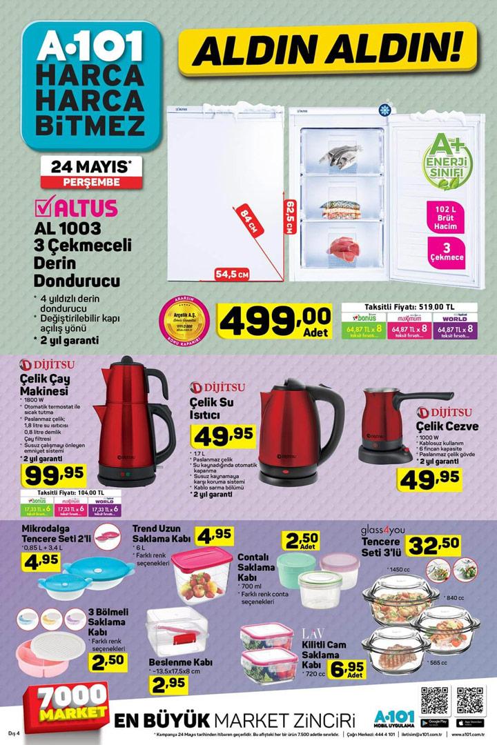 A101 Aktüel 24 Mayıs Perşembe Aktüel Ürün Sayfası