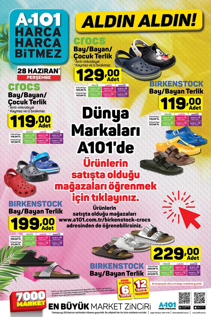 28 Haziran A101 Aktüel Ürünler Listesi – A-101 Market