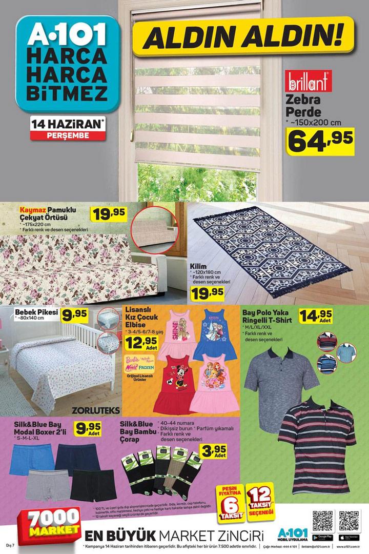 A101 14 Haziran Ev Tekstili Ürünleri Aktüel Aldın Aldın Sayfası