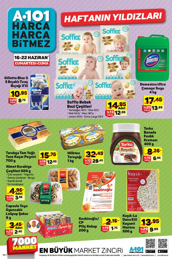 A101 16 Haziran 2018 Aktüel Ürünler Kataloğu
