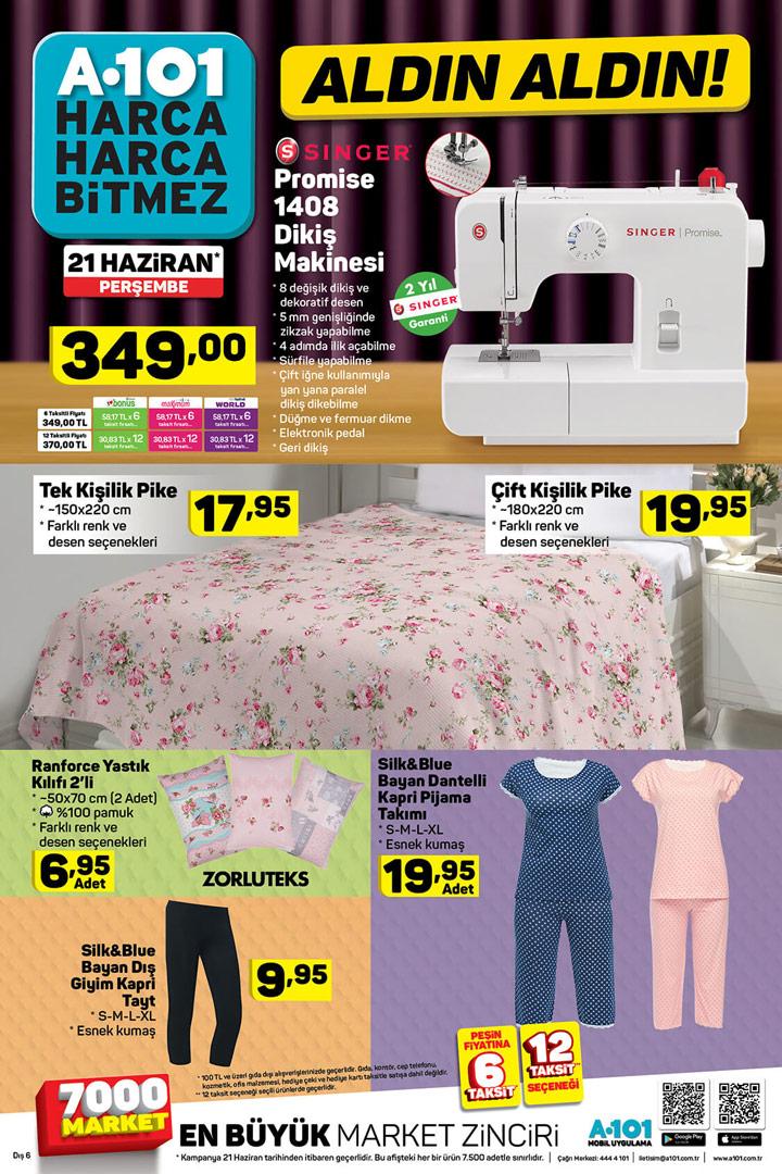 A101 21 Haziran Perşembe Aktüel Ev Tekstili Ürün Sayfası