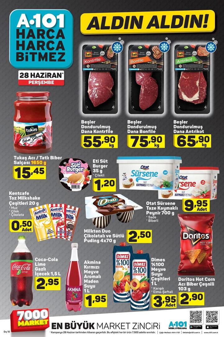A101 Market & 28 Haziran Gıda Ürün Kataloğu