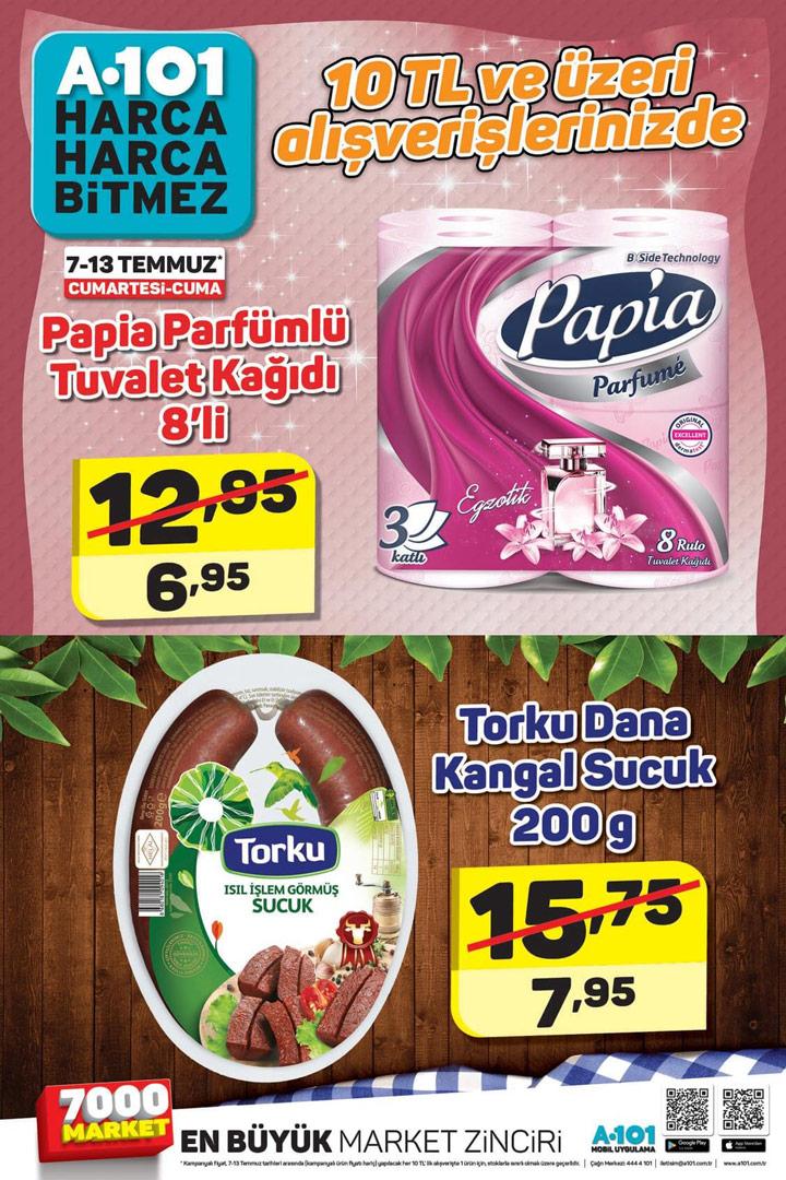 A101 7 & 13 Temmuz Efsane Aktüel Ürün Kataloğu