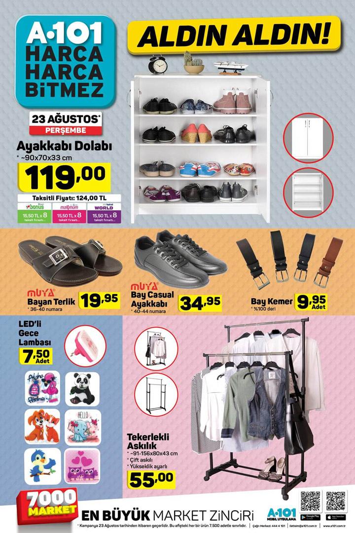 A101 23 Ağustos Ev Tekstili Aktüel Ürünleri
