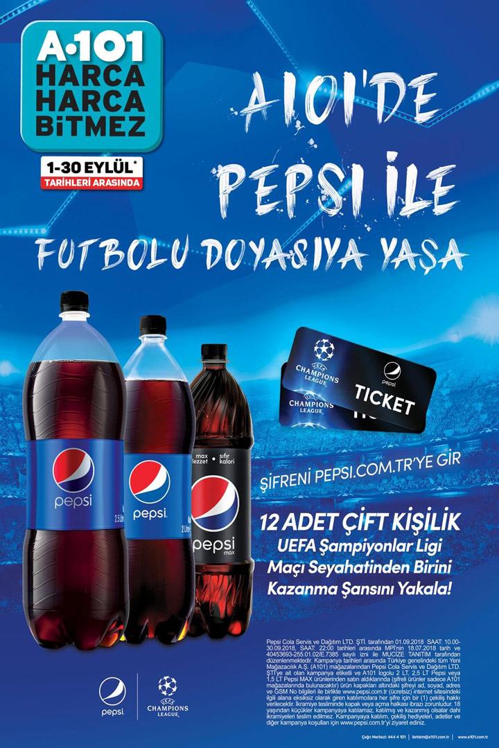 A101 & Pepsi Aktüel Ürünleri 1 Eylül Fırsatı