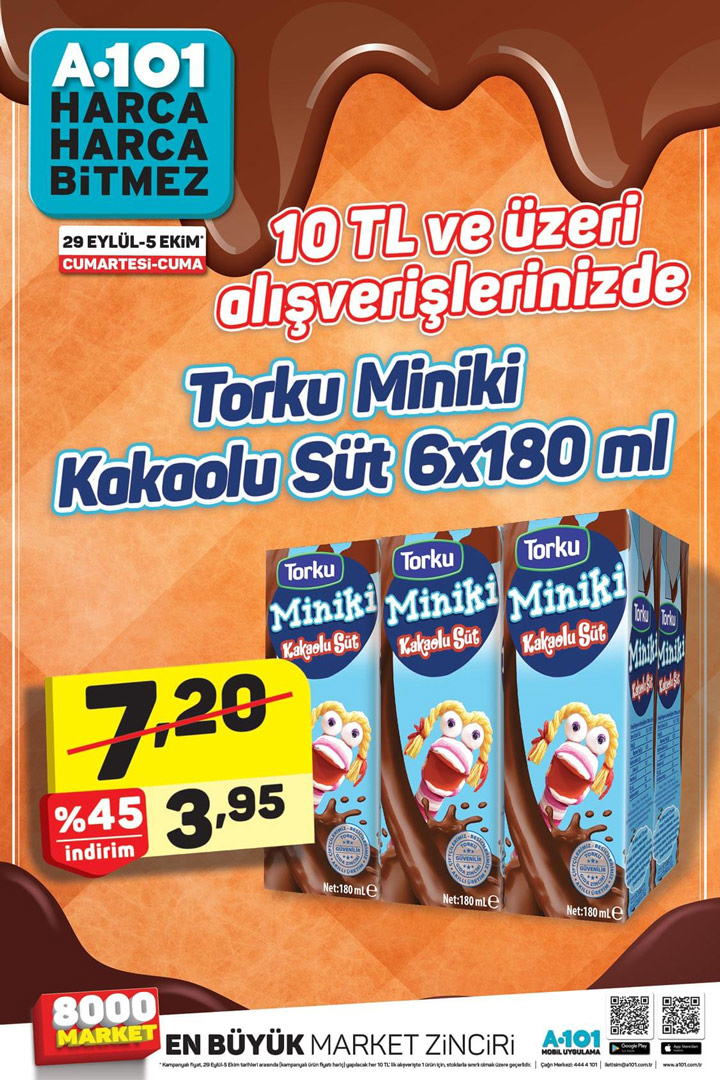 A101 29 Eylül – 5 Ekim Efsane Aktüel Ürün Kampanyası