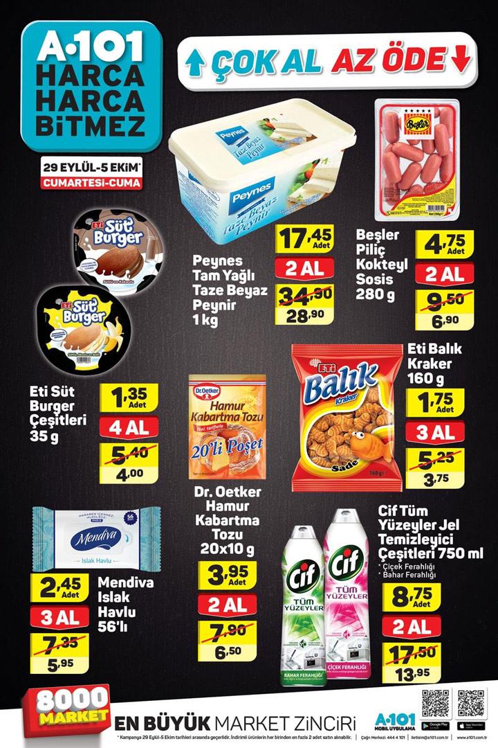 A101 29 Eylül Hafta Sonu Aktüel Ürün Kataloğu