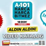 A101 18 Ekim 2018 Aktüel Video Kataloğu