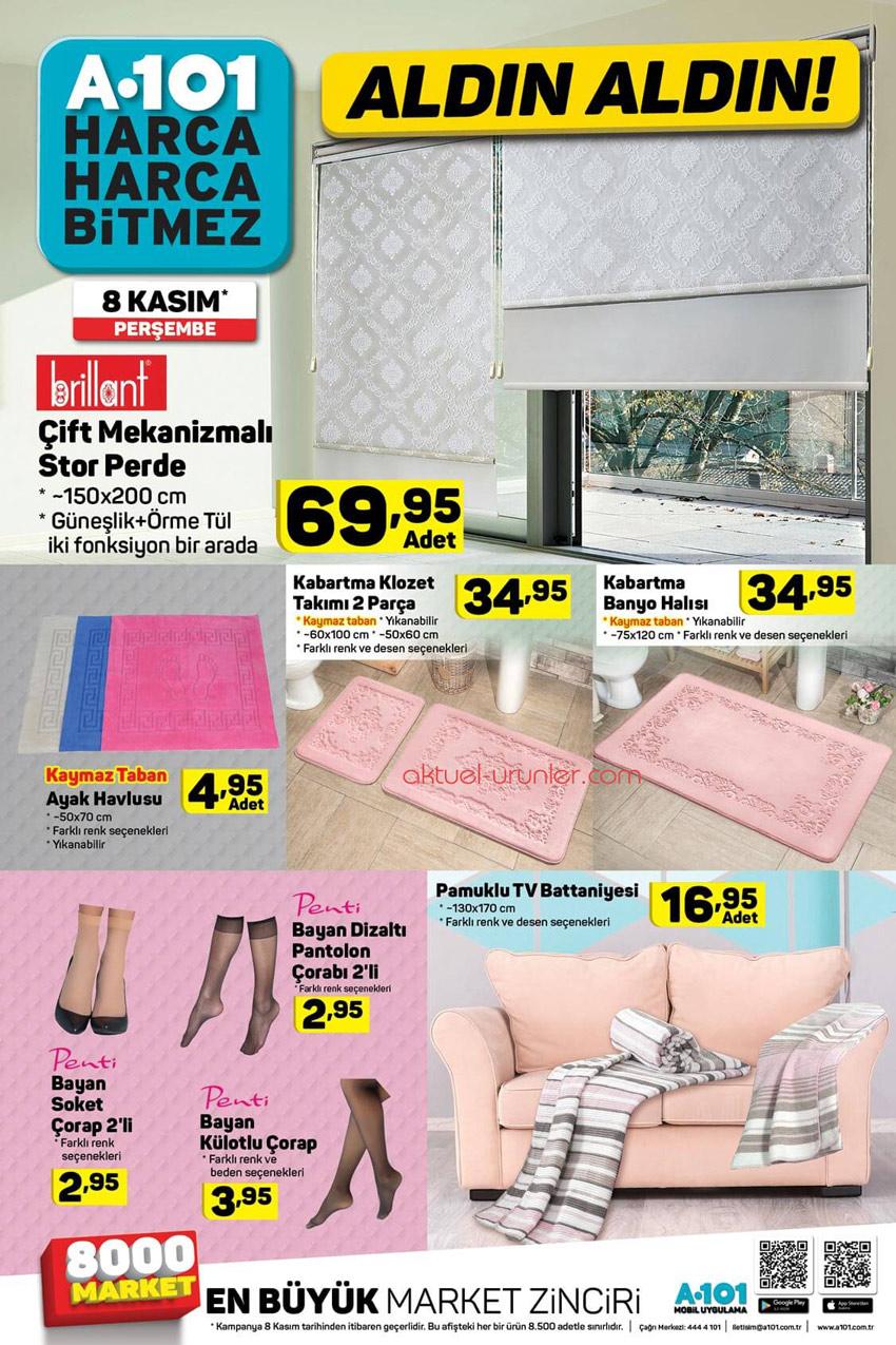 A101 8 Kasım Perşembe En Yeni Ürünler