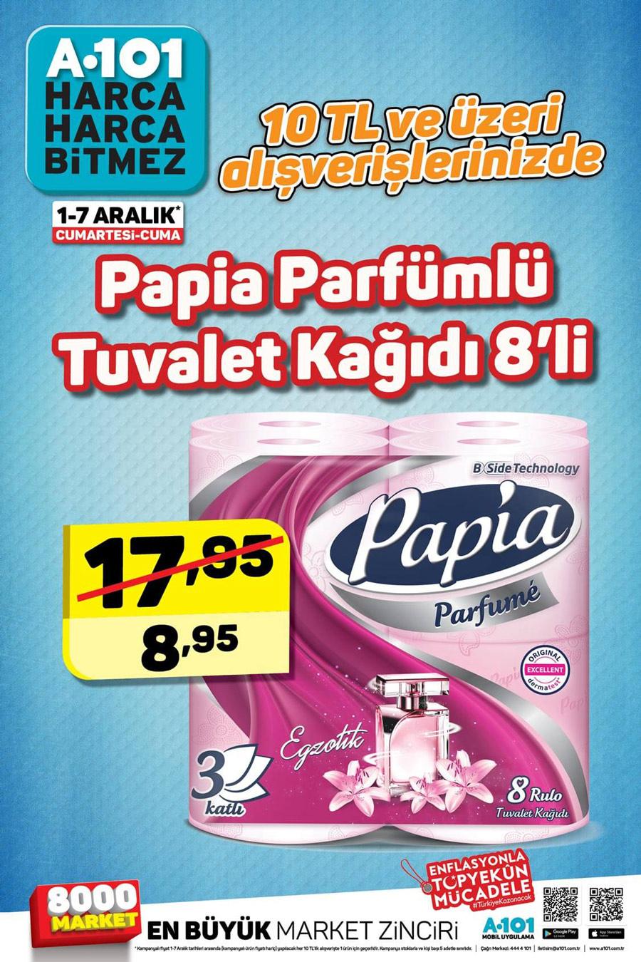 A101 1 Aralık Efsane Aktüel Ürün Kataloğu