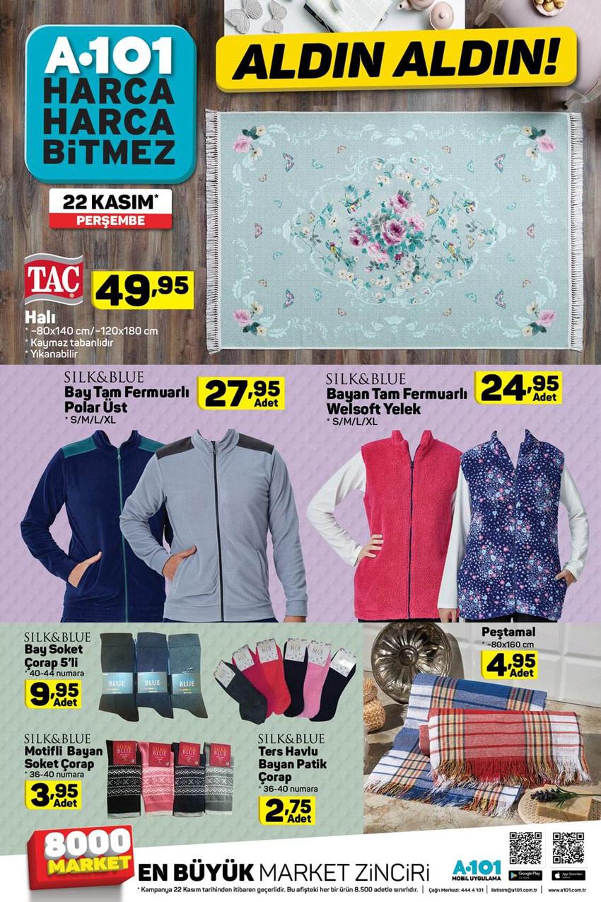 A101 22 Kasım Cazip Aktüel Ürünleri