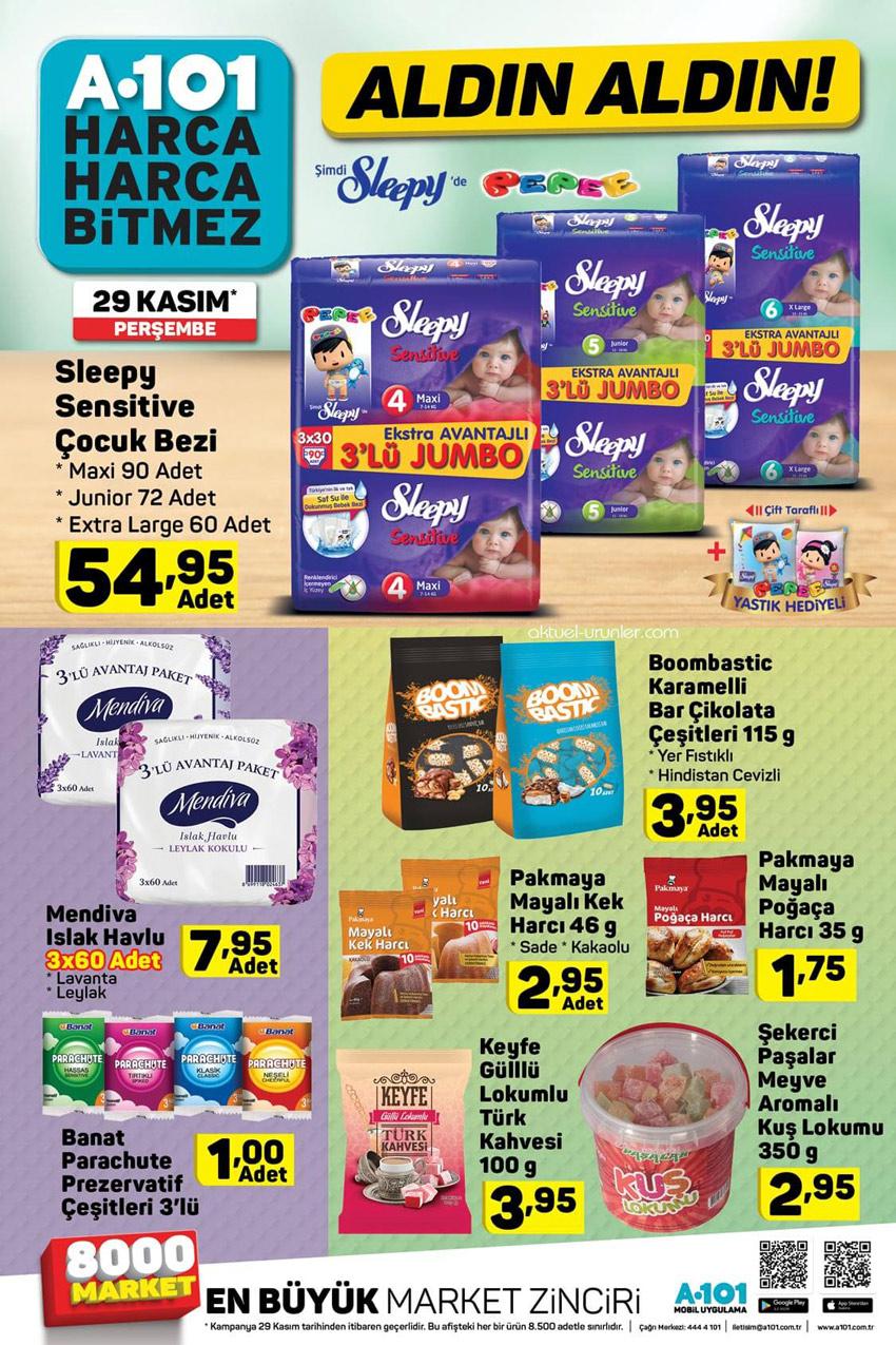 A101 29 Kasım Uygun Fiyatlı Aktüel Ürünleri