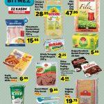 A101 Aktuel, Gıda Ürünleri 22 Kasım Kataloğu
