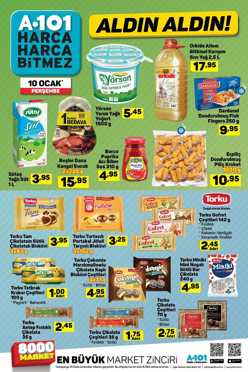 A101 10 Ocak Gıda Aktüel Ürünleri İncelemesi