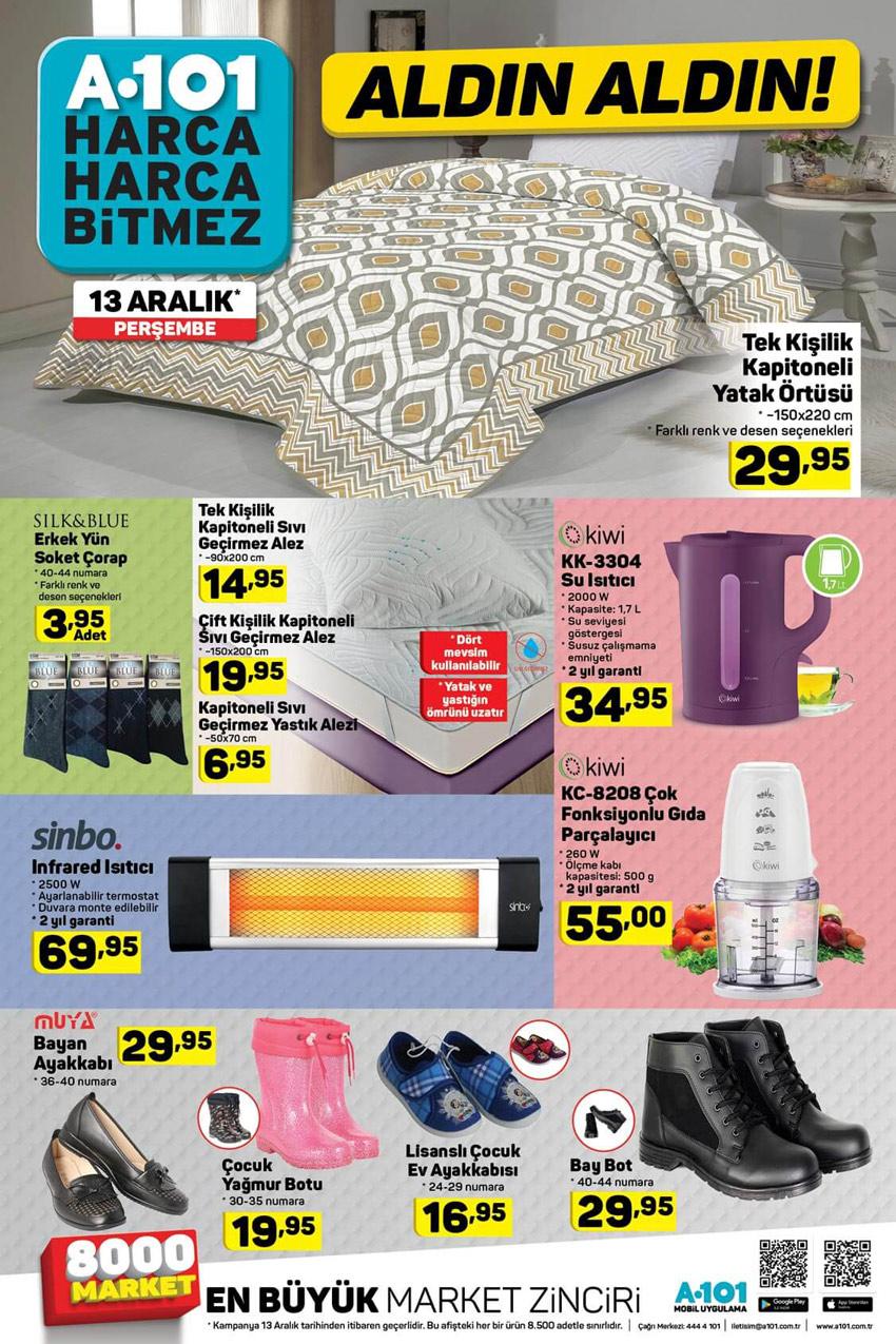 A101 13 Aralık En Yeni ve Güncel Aktüel Ürün Kataloğu