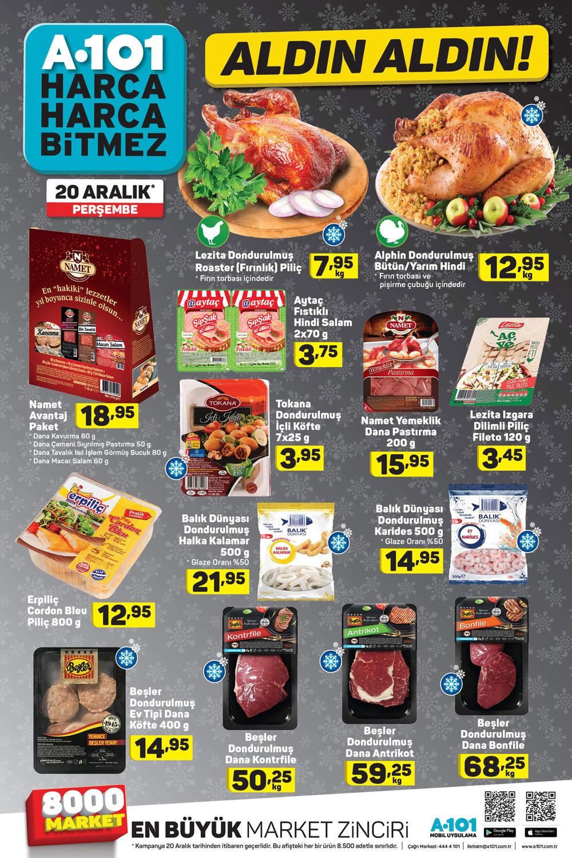 A101 20 Aralık Yılbaşı Özel Aktüel Ürünleri