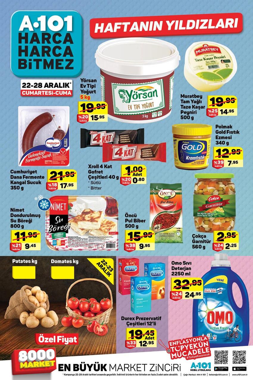 A101 22 Aralık 2018 Aktüel Ürünler Kataloğu