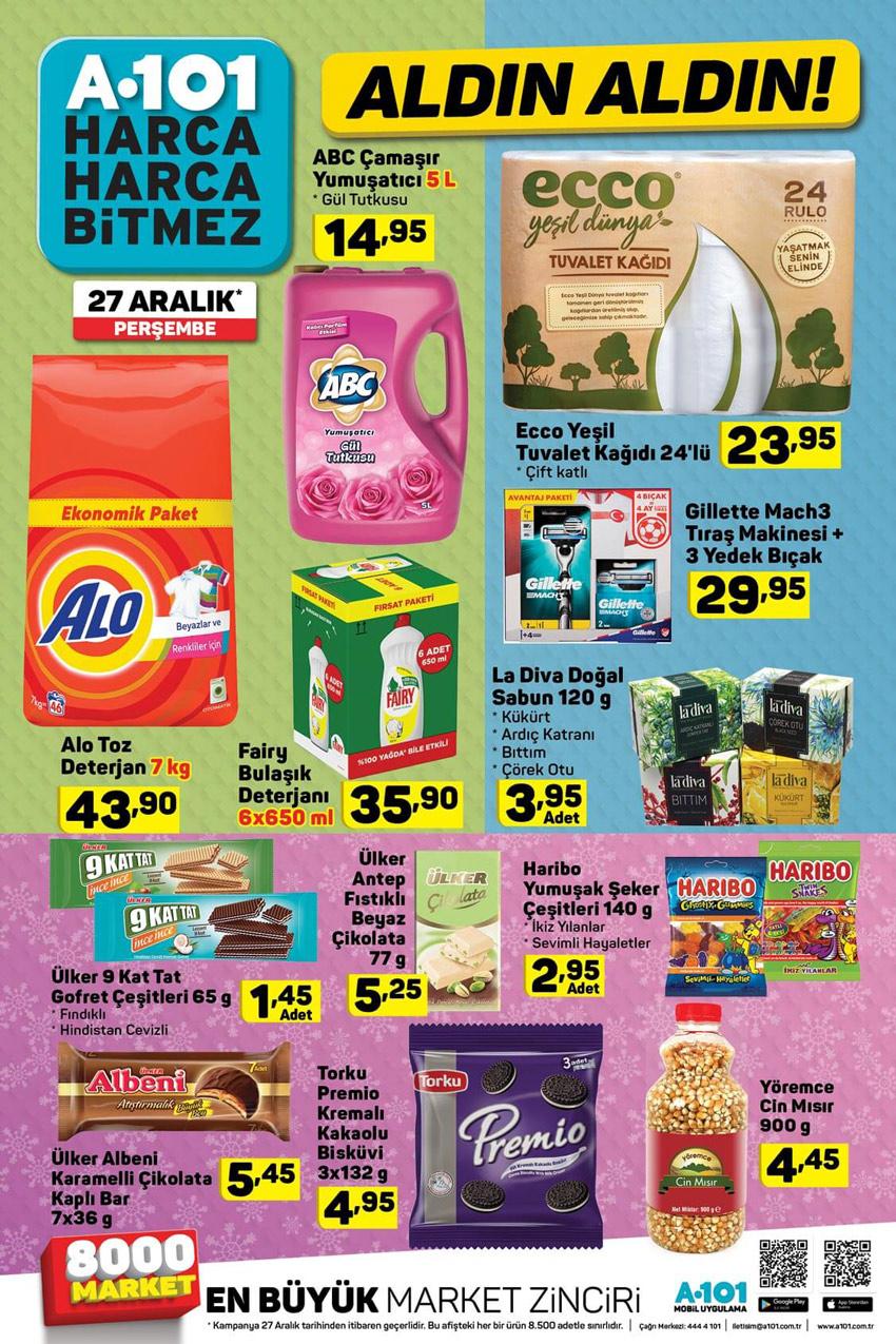 A101 27 Aralık Aldın Aldın Aktüel Ürünler