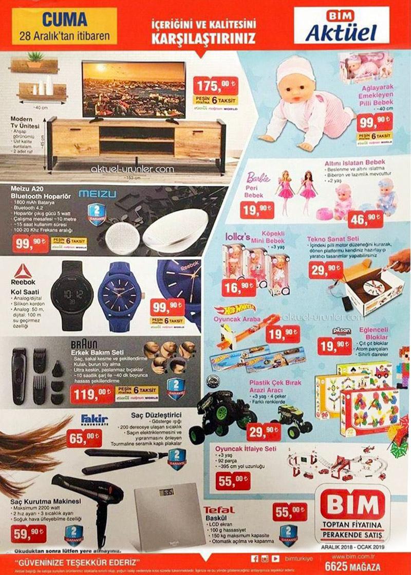 BİM Aktüel, 28 Aralık Cuma Aktüel Ürün Katalogları