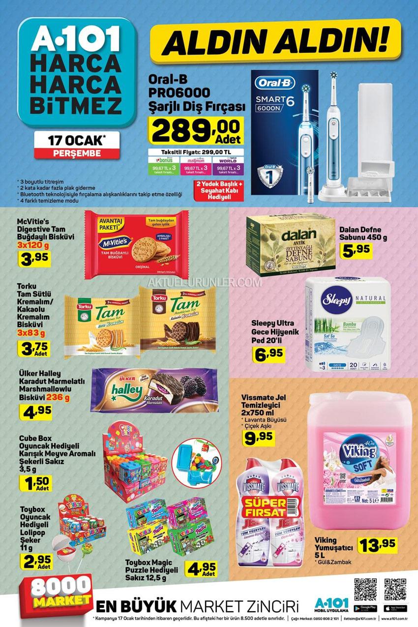 A101 17 Ocak Aldın Aldın Aktüel Ürünleri