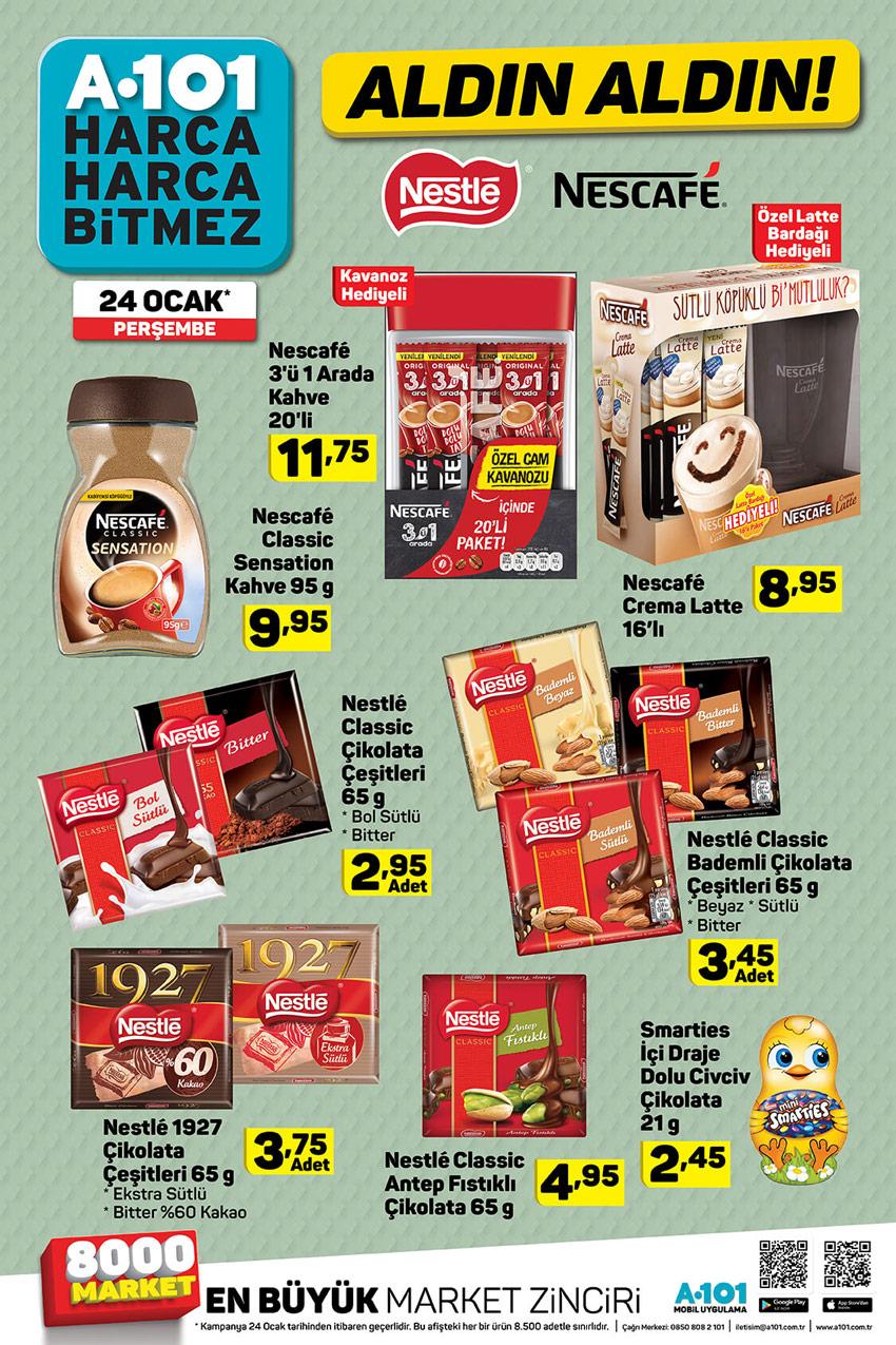 A101 24 Ocak Çikolata Çeşitleri Aktüel Ürünleri