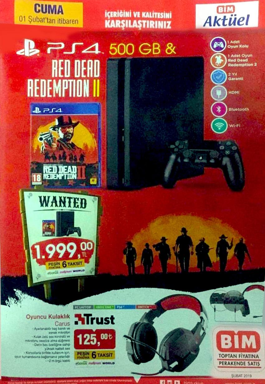 BİM 1 Şubat PS4 Aktüel Ürün Detayları