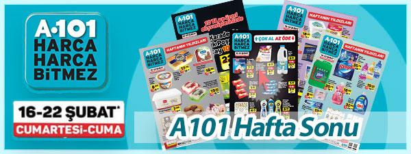 A101 16 ŞUBAT manşet