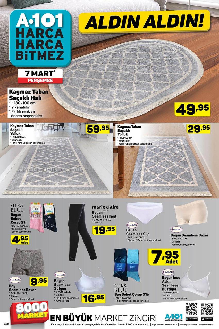 A101 7 Mart Eviniz İçin Gelen Aktüel Ürünler